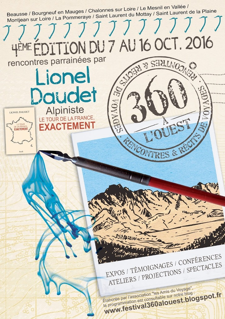 Festival d 39 aventure et de voyage 360 l 39 ouest mauges - Chalonnes sur loire office de tourisme ...